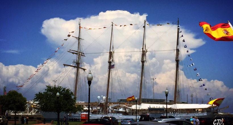 The Juan Sebastián de Elcano