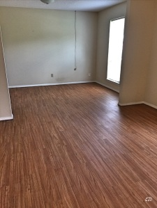 The only thing getting laid today is flooring.